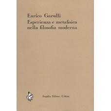 Garulli E. Esperienza e metafisica nella filosofia moderna